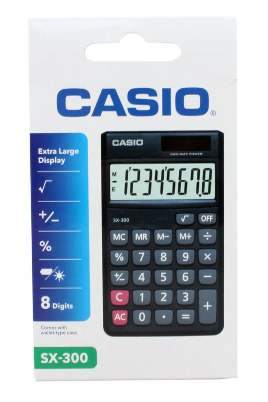 Casio Handheld Calculator Sx30...