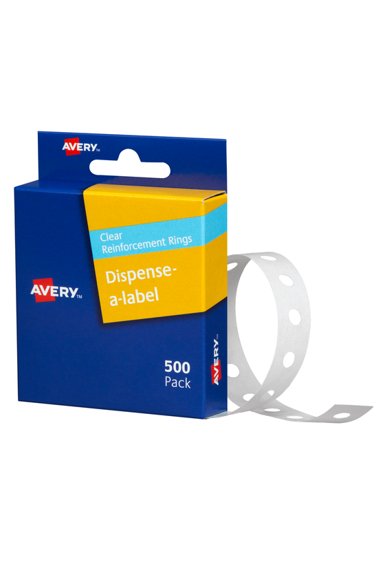 Avery Reinforcement Ring Label...