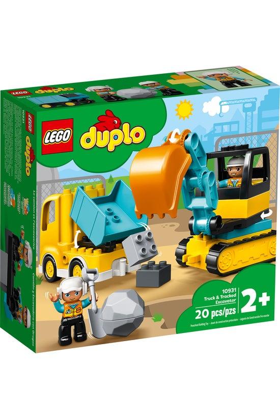 Lego Duplo: Truck & Tracke...