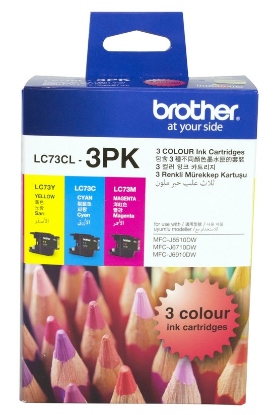 Brother Ink Cartridge Lc73cl3p...