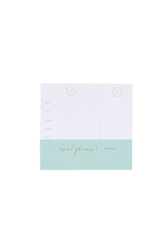 Noted Aura Meal Planner Pad