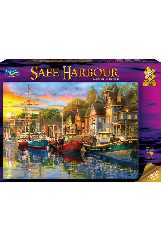 Safe Harbour 1000 Piece Jigsaw...