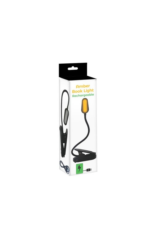 Rechargeable Amber Book Light ...