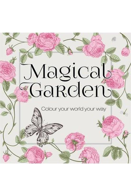 Colouring Books Magical Garden