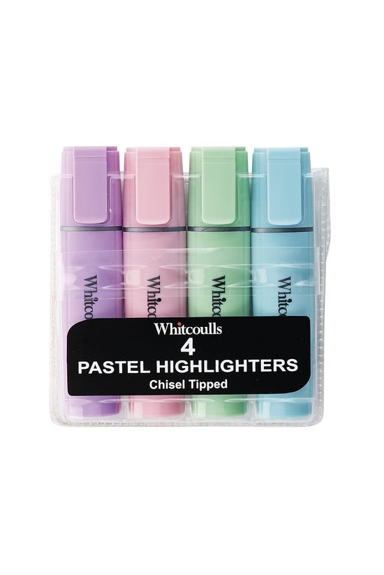 Whitcoulls Highlighters Pastel...