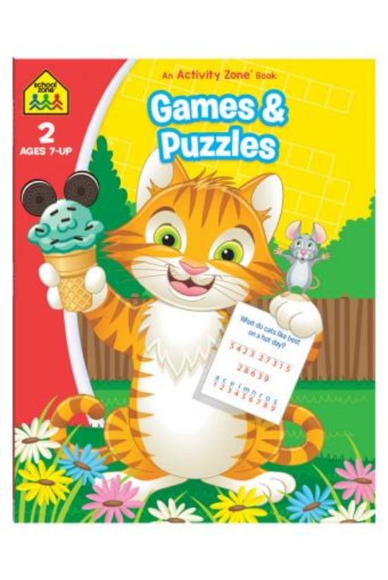 School Zone: Games And Puzzles...