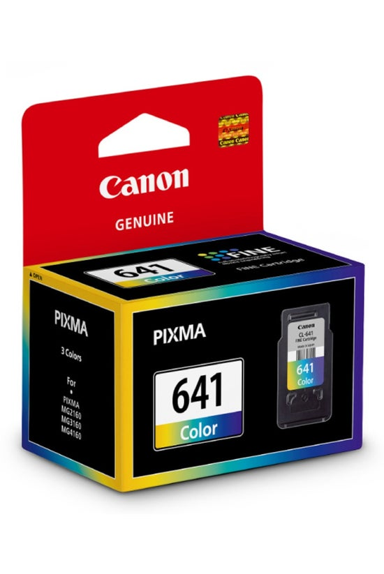 Canon Ink Cartrige Cl641 Colou...