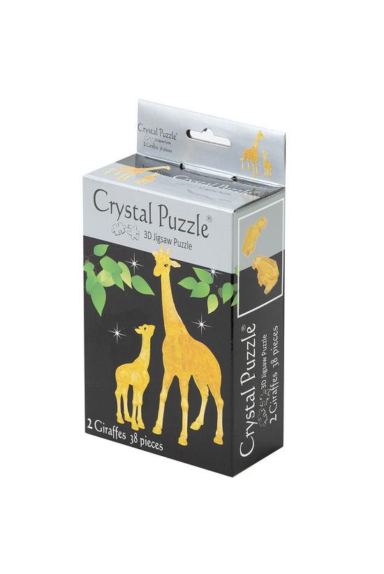 Crystal Puzzle Giraffe Family