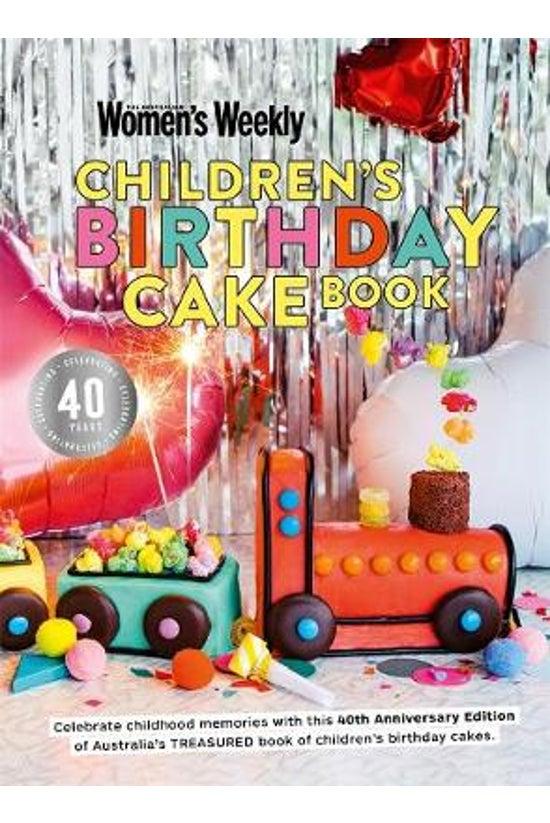 Children's Birthday Cake Book ...