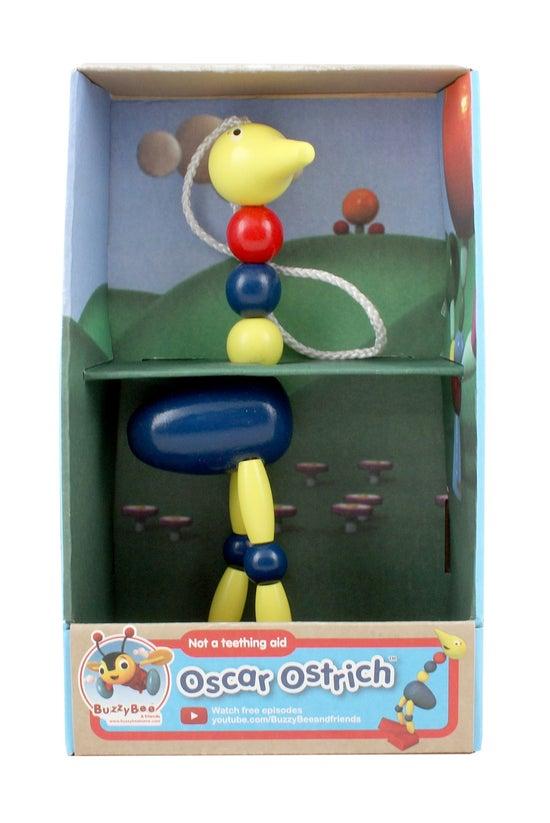 Oscar Ostrich Wooden Toy