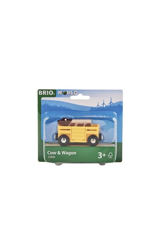 Brio World: Cow & Wagon