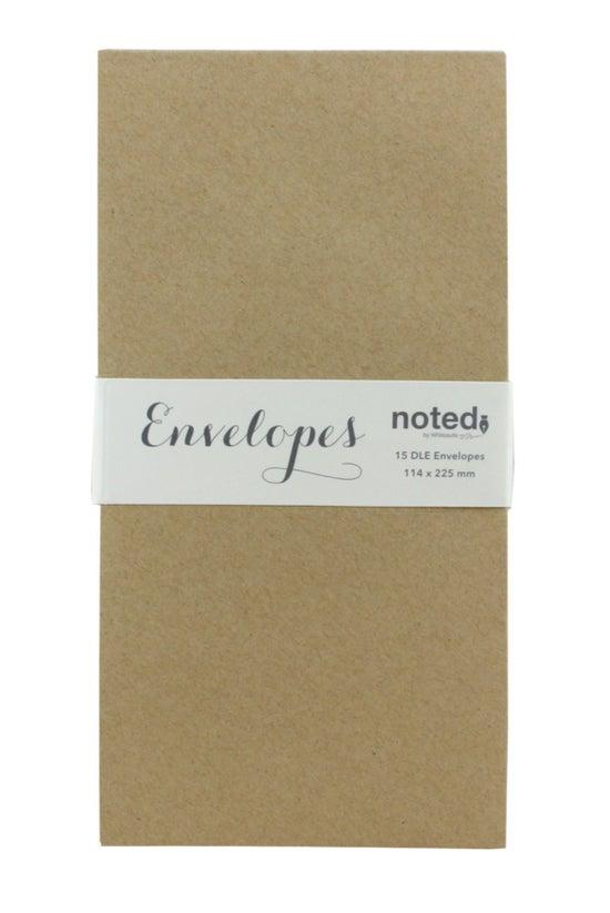 Noted Envelopes Dle Kraft 120g...