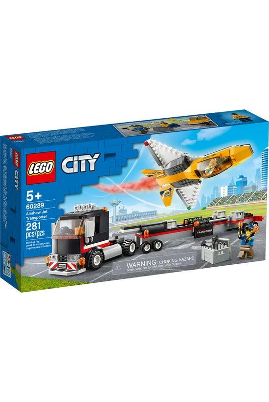 Lego City: Airshow Jet Transpo...