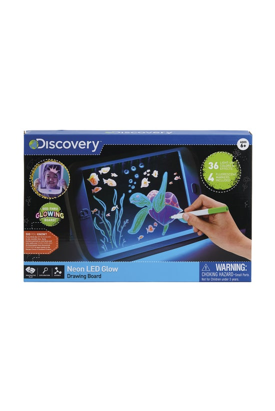 Discovery Neon Led Glow Drawin...