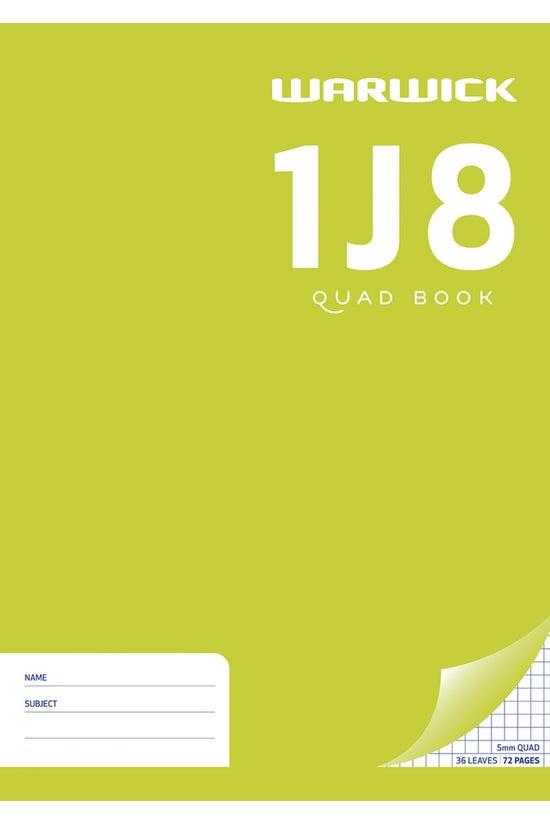 Warwick 1j8 Quad Book A4 36 Le...
