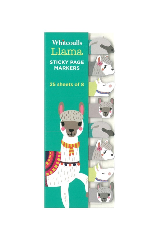 Whitcoulls Page Markers Llama ...
