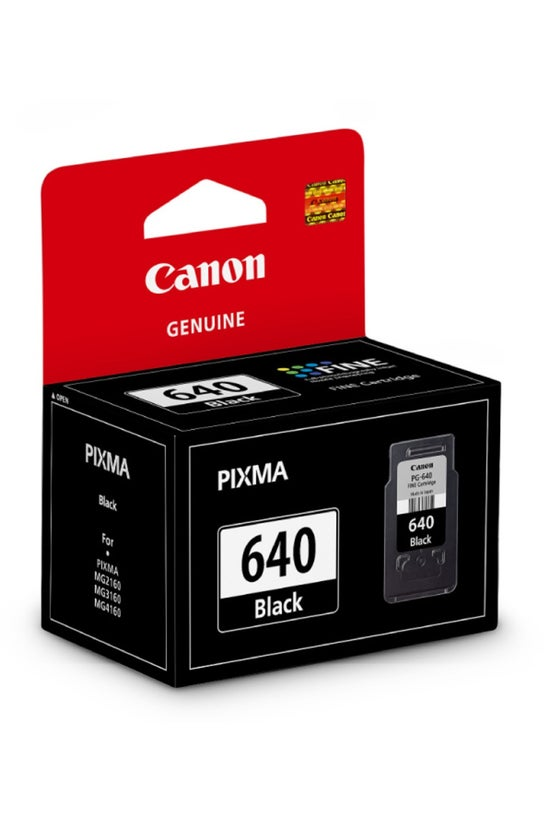 Canon Ink Cartridge Pg640 Blac...