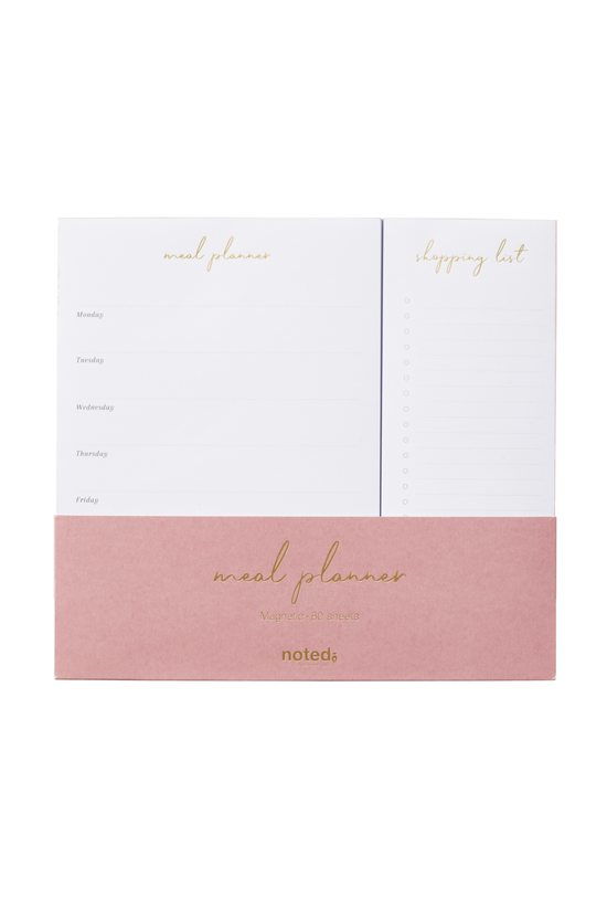 Noted Meadow Planner Pad Rose