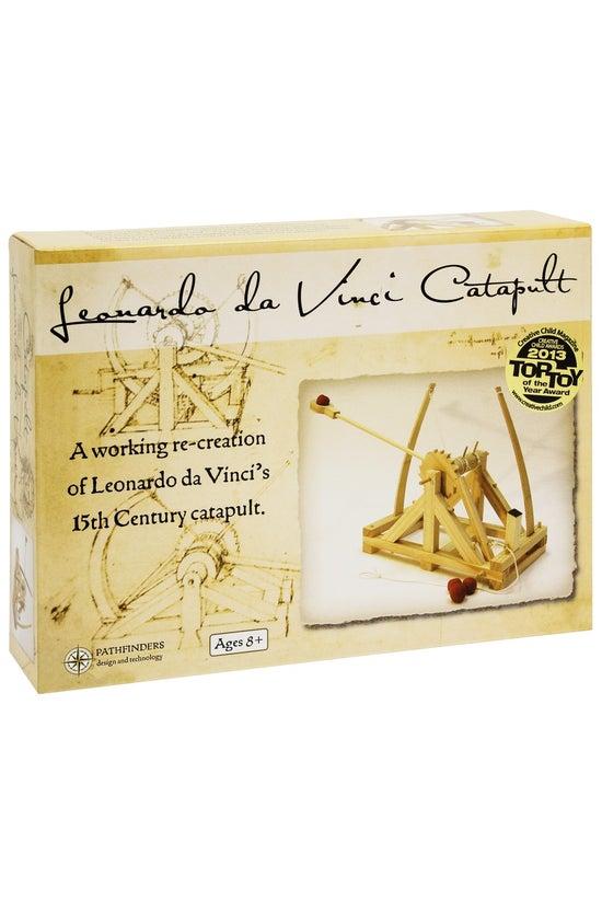 Da Vinci Catapult Wooden Model