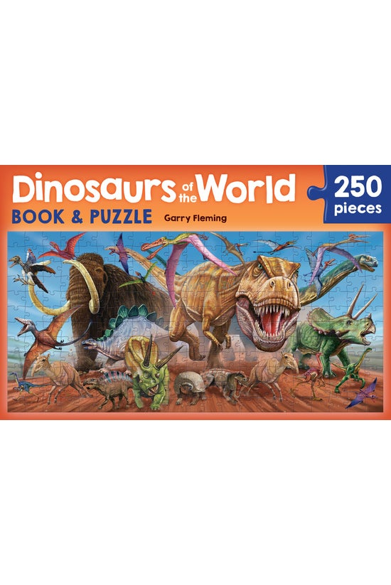 Dinosaurs Of The World Book &a...