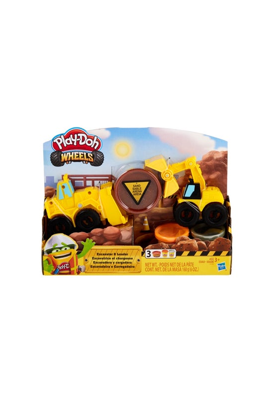 Play-doh Wheels Excavator And ...