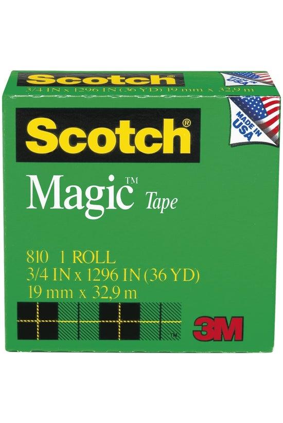 Scotch Magic Tape 810 19mm X 3...
