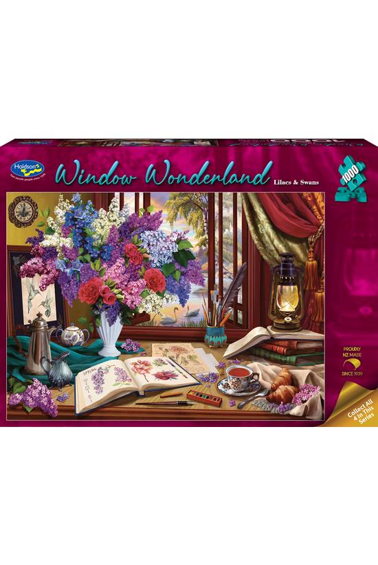 Window Wonderland: Lilacs &...