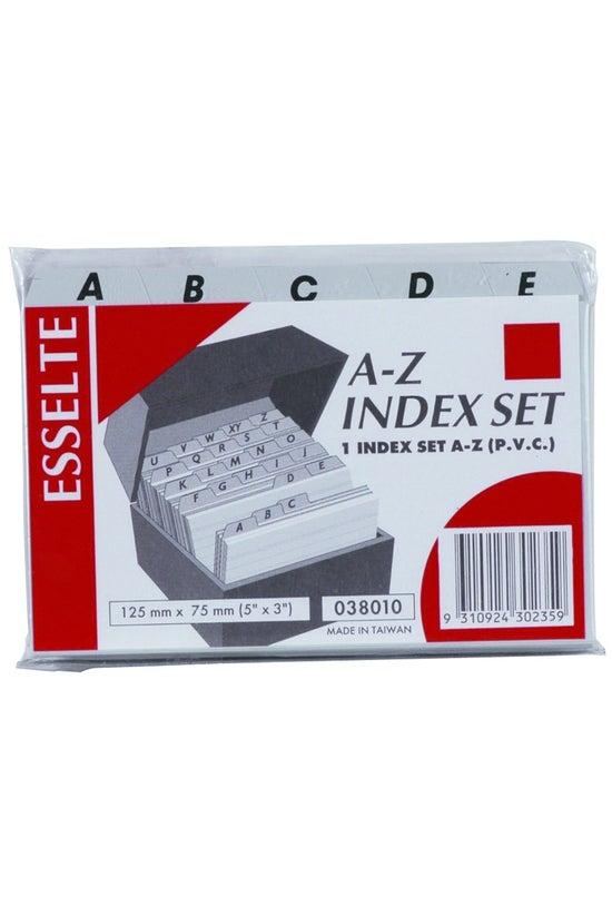 Esselte Card File Indices A-z ...