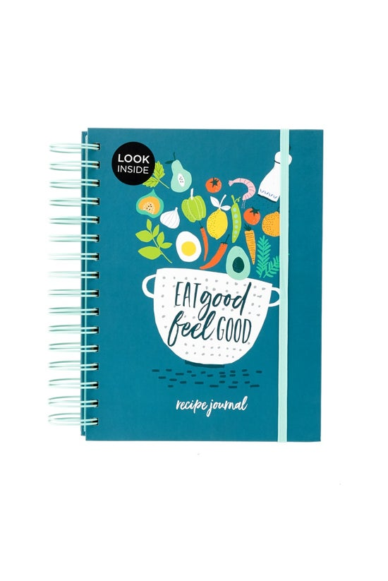 Whsmith A5 Recipe Journal Eat ...