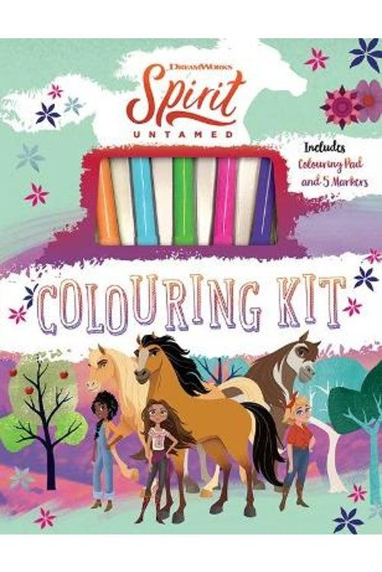Spirit Untamed: Colouring Kit