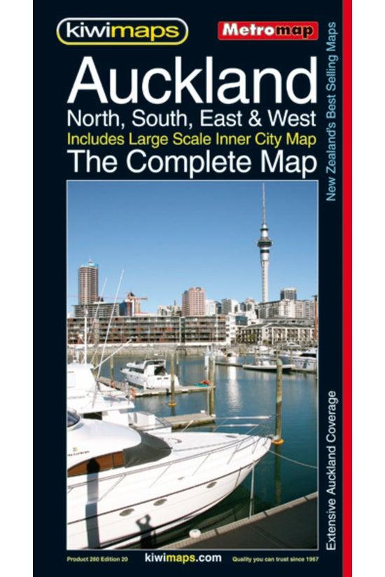 Auckland Complete Metromap 260