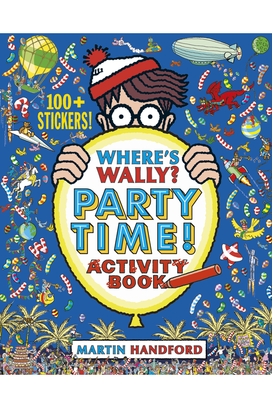 Where's Wally? Party Time!