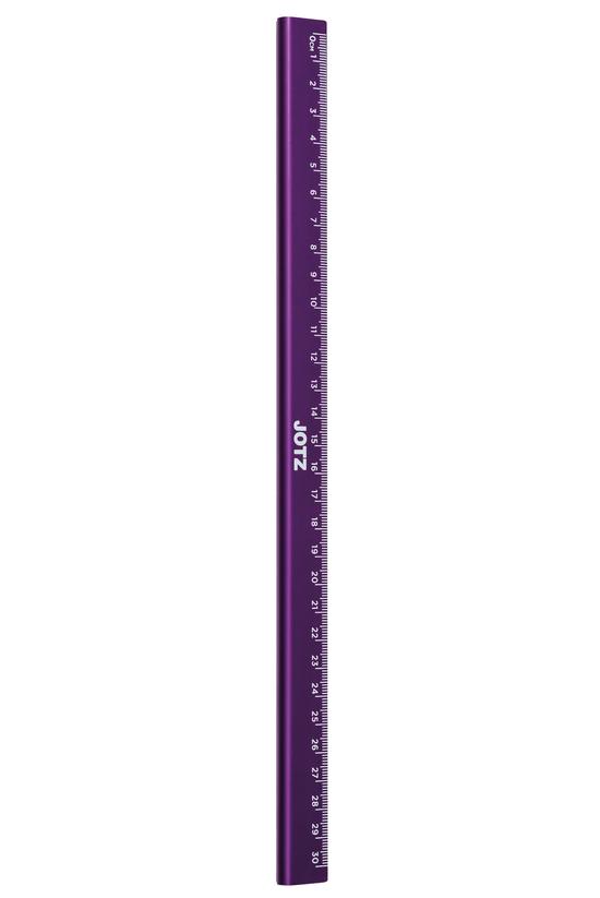 Jotz Ruler Metal 30cm Purple