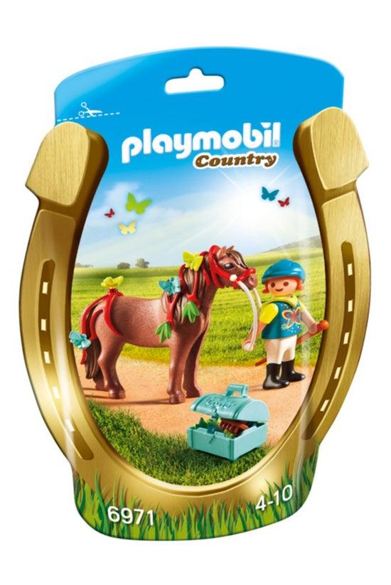 Playmobil Groomer & Butter...