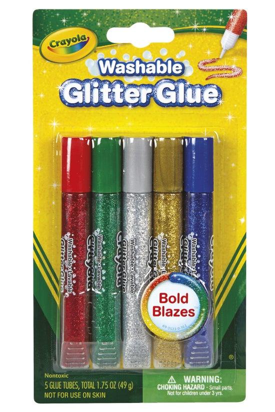 Crayola Washable Glitter Glues...