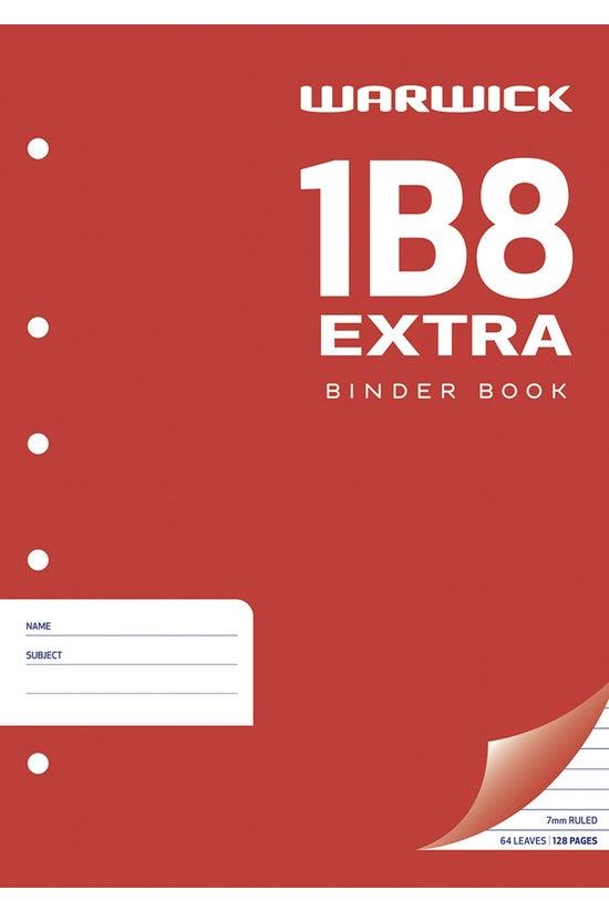 Warwick 1b8 Exercise Book 64 L...