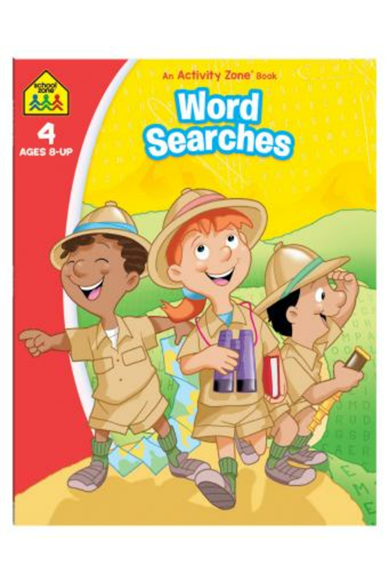 School Zone: Word Searches: An...