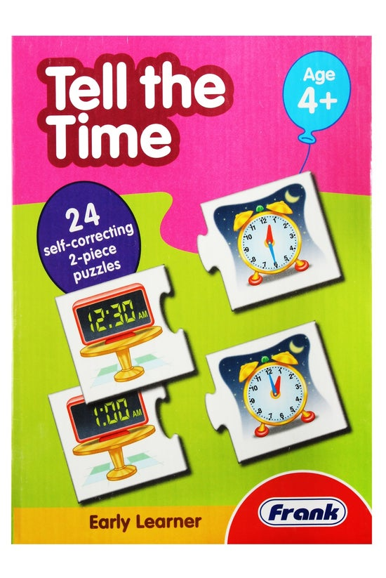 Frank Tell The Time Puzzle Pai...
