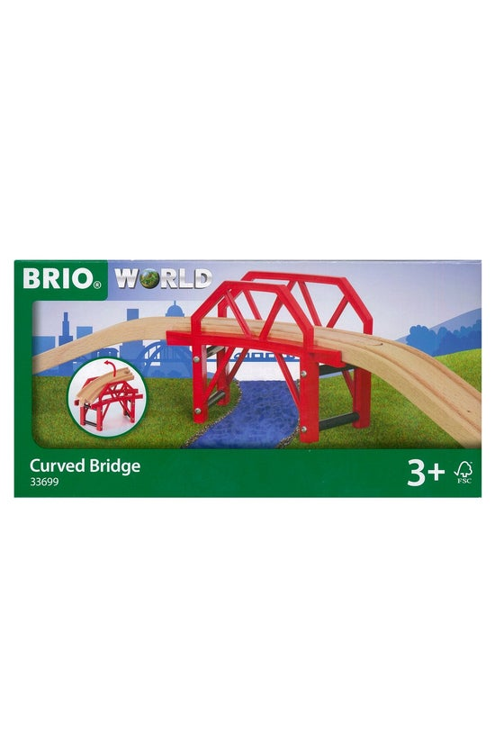 Brio World: Curved Bridge