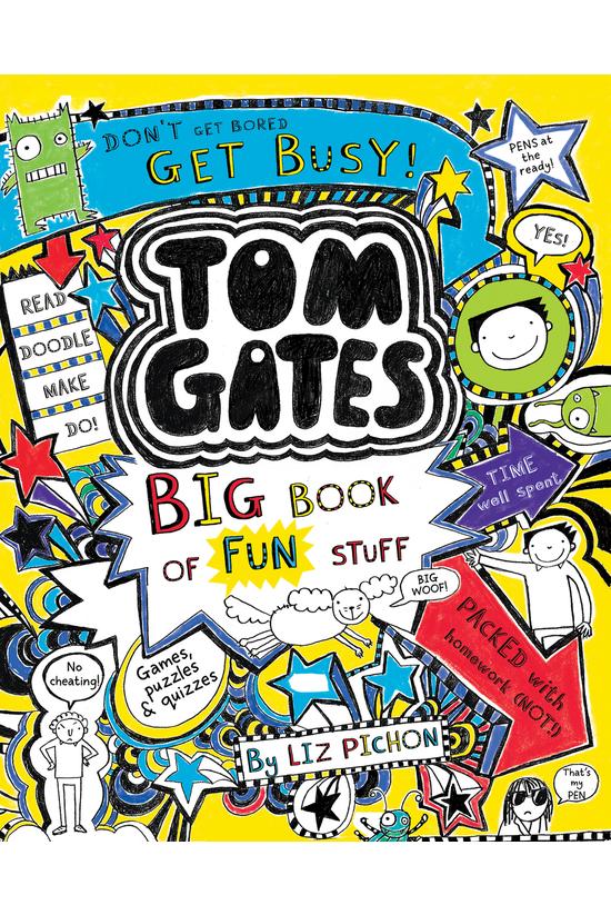 Tom Gates: Big Book Of Fun Stu...