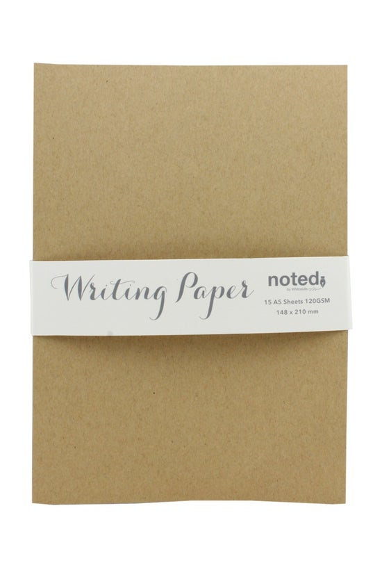 Noted Writing Paper A5 120gsm ...