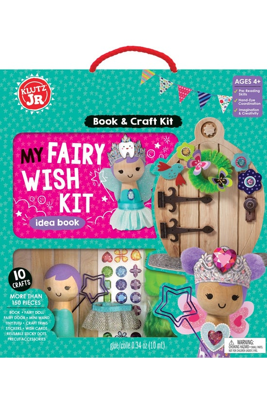 Klutz Junior: My Fairy Wish Ki...
