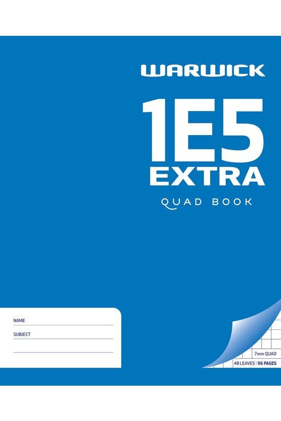 Warwick 1e5 Quad Book Extra