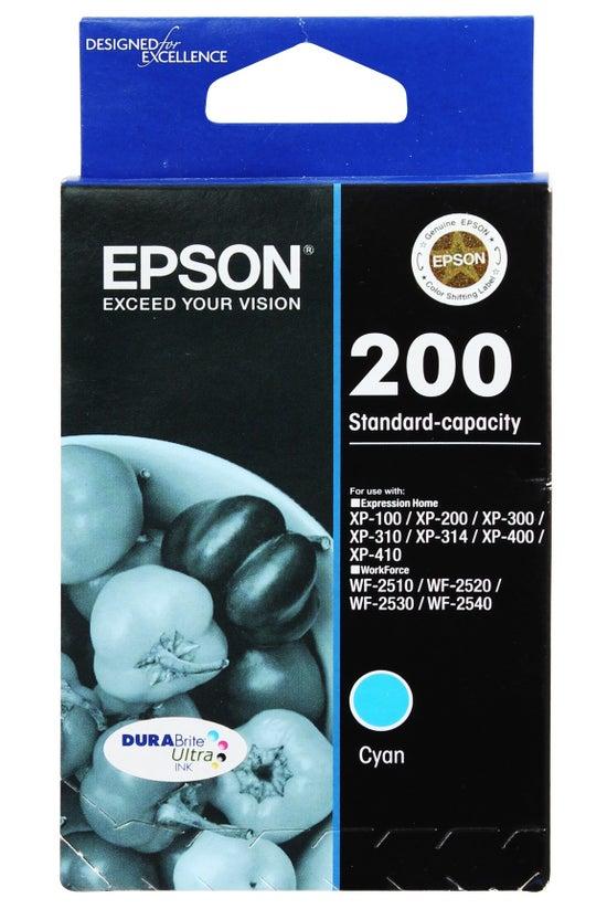 Epson Ink Cartridge 200 Cyan