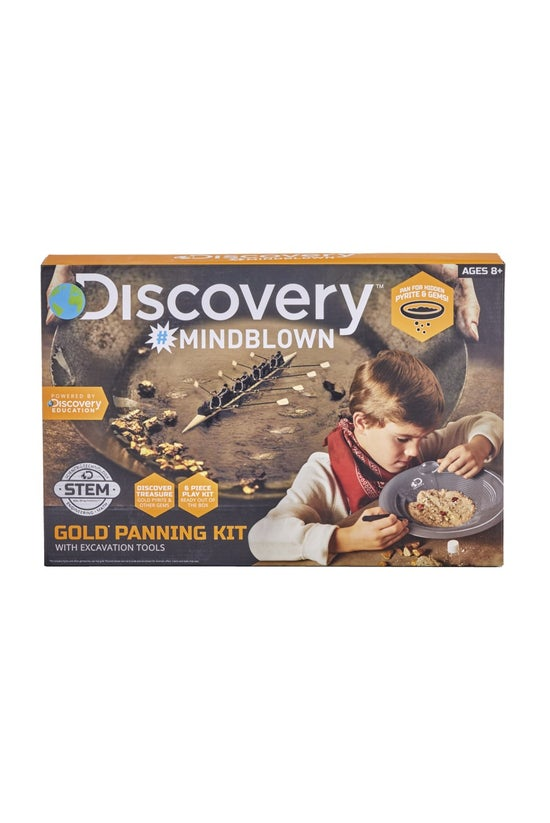 Discovery #mindblown Gold Pann...