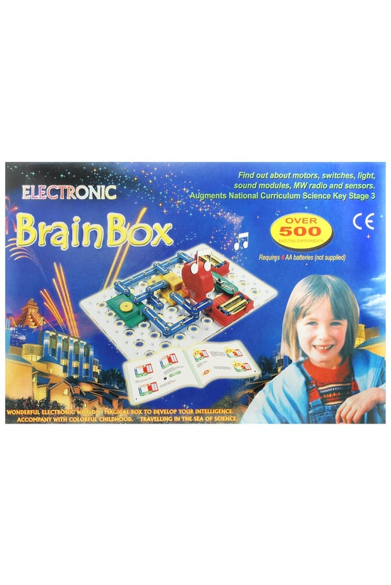 Electronic Brain Box: Over 500...