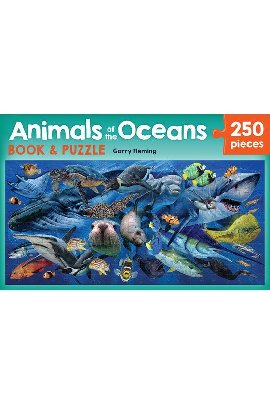 Animals Of The Oceans Book &am...