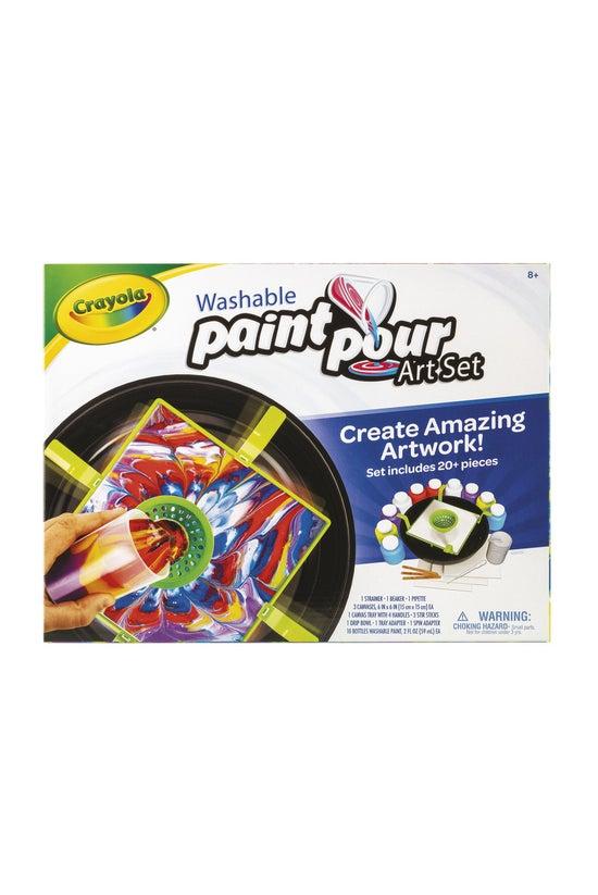 Crayola: Washable Paint Pour A...
