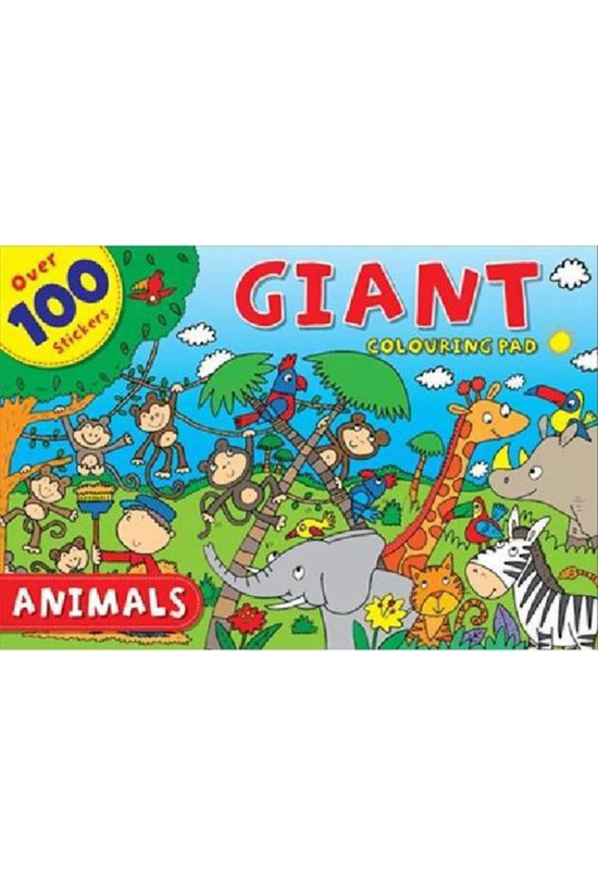 Giant Colouring Pad Animals