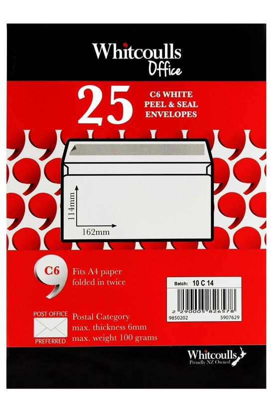 Whitcoulls 25 C6 White Peel &a...